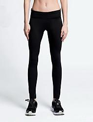 Pantaloni da yoga Pantalone Traspirante / Elasticizzato Naturale Elastico Abbigliamento sportivo Rosa / Nero / Blu Unisex Sportivo Yoga