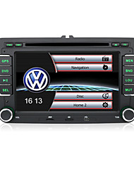"7 ""2 DIN-Touchscreen-LCD-Auto-DVD-Player für Volkswagen mit CAN-Bus-, Bluetooth-, GPS-, iPod-Eingang, RDS, Radio, atv"