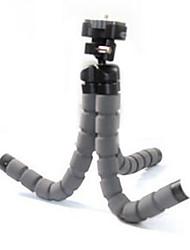 trompete mini-portátil esponja polvo tripé tripé de câmera para GoPro