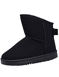 Winter snow boots women's short paragraph of the short paragraph of the classic short tube warm boots
