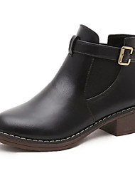 A small new Europe spring boots shoes with flat Martin boots single British winter boots