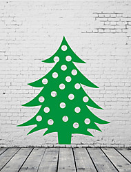 Noël / Vacances Stickers muraux Stickers avion Stickers muraux décoratifs,PVC Matériel Amovible Décoration d'intérieur Wall Decal
