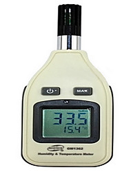Digital Hygrometer Portable Electronic Hygrometer Gm1362 Industrial Digital Hygrometer
