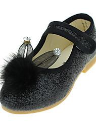 Girl's Flats Spring / Fall Flats Leatherette Wedding / Outdoor / Party & Evening / Dress / Casual Flat Heel Fur / Magic