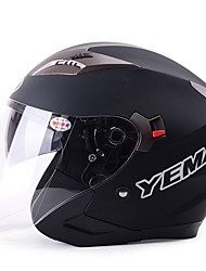 YEMA 625 Motorcycle Helmet Half Helmet Winter Motorcycle Racing Car Helmets