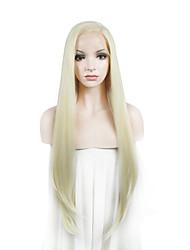 largas pelucas delanteras imstyle 24on venta naturales rectas de encaje sintético