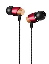 Neutre produit AM800 Ecouteurs Intra-AuriculairesForLecteur multimédia/Tablette / Téléphone portable / OrdinateursWithDJ / Règlage de