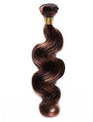 1PC TRES JOLIE Body Wave Human Hair 10-18Inch Brown Auburn Piano Color 4/30 Human Hair Weaves