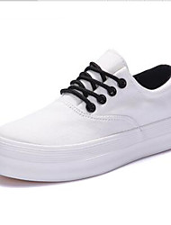 Women's Sneakers Spring / Fall / Winter Creepers Leatherette Outdoor / Casual Platform Lace-up  Sneaker
