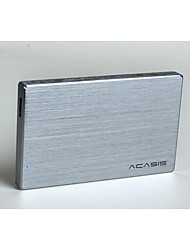 Acasis Fa - 2013 Us Full Aluminium 2.5 Inch Mobile Hard Disk Box Start Laptop Sata Serial Port Random Color