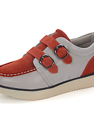 Women's Flats Spring / Summer / Fall / Winter Comfort / Flats Suede Outdoor / Athletic / Casual Blue / Brown / Orange