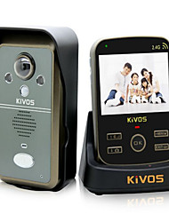 KiVOS KDB302 Wireless Home Doorbell With Photograph Videotape Unlock