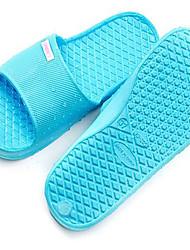Unisex-Slippers & Flip-Flops-Outddor Lässig-PVC-Flacher AbsatzBlau Rot