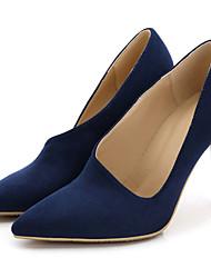 Women's Heels Spring / Fall Heels / Pointed Toe Fabric Wedding / Dress / Casual Stiletto Heel OthersBlack / Blue