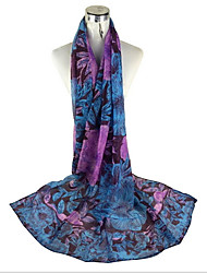 Ethnic New Winter Long Section Of Large Scarves Ladies Scarf Silk Voile