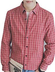 DMI™ Men's Lapel Plaid Casual Shirt(More Colors)