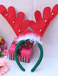 3PCS 2016 Christmas Antlers Hair Hoop Headband Hair Band Christmas Tree Decorations
