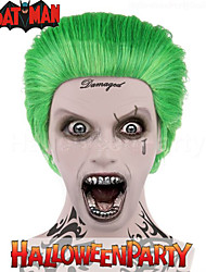 Green Joker Wig wit Cap Fashion Party Halloween Cosplay Costume Wig