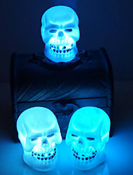 Selling Halloween Decoration Supplies Skull Night Light Random Color