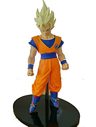Figures Animé Action Inspiré par Dragon Ball Goku PVC 15 CM Jouets modèle Jouets DIY