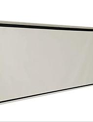 pantalla de proyección carta dotado de 100 pulgadas 16 9 cortinas y la mano-sala de conferencias de la casa de plástico blanco