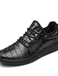 Femme-Décontracté / Sport-Noir / Rouge / Blanc-Talon Plat-Ballerines-Chaussures d'Athlétisme-Microfibre