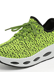 Damen-Sneaker-Outddor Lässig-Leinwand-Plateau CreepersSchwarz Grün Rot Weiß Beige