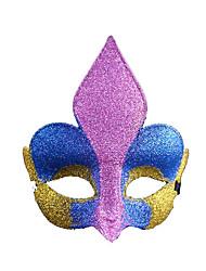 Pour Halloween / Bal Masqué Princesse Fête / Célébration Déguisement Halloween Rouge Imprimé / Mosaïque Masque Halloween UnisexePlastique