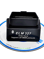 мини-черный Bluetooth v2.1 obd2 детектора ELM327 автомобиля