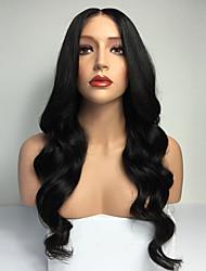 chaud!! brazilian vague de corps de cheveux humains pleine perruque de dentelle perruques 8-30inch non transformés vierges humains de