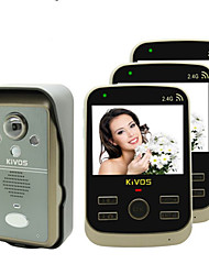 KiVOS KDB302A Wireless Visual Sensor Household Doorbell with Night Vision Surveillance Camera Call Unlock