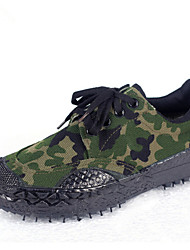 Outdoor Mountaineering Hunting Camouflage Canvas Shoe
