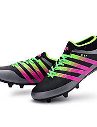 Men's Soccer Shoes / Spring / Summer / Fall / Winter / Leather / Tulle Outdoor Sport / Black / Blue / Light Green