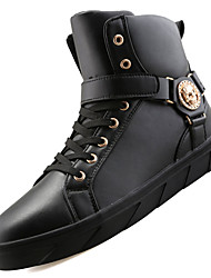 Men's Boots Spring / Fall / Winter Work & Safety / Comfort / Combat Boots PU Outdoor / Athletic / Casual Black / Red /