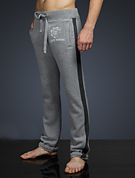 LOVEBANANA Men's Active Pants Light Gray-34090