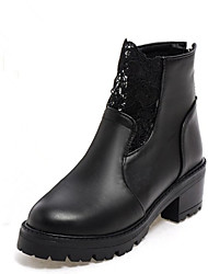 Women's Boots Spring / Fall / Winter Heels / Riding Boots /Bootie / Basic Pump / Comfort / Combat Boots / Round Toe
