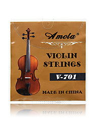 Profissional Corda Alta classe Violino novo Instrumento Aço Acessórios Musical Instrument Prateado
