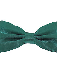 Adjustable Men Jacquard Polyester Silk Bow Tie for Wedding Party