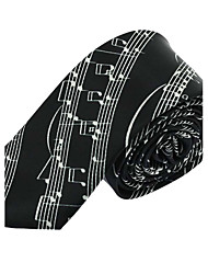 Polyester Silk Tie Leisure Jacquard Necktie for Adult Men