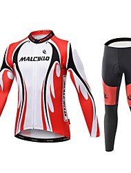 2016 MALCIKLO Man Cycling Jerseys Wither warm Bicycle wear Long Sleeve mtb Cycling Clothing Bike Wear