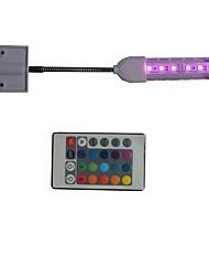 1PCS 31CM 6SMD 5050Led Multicolor Aquarium Fish Tank Waterproof LED Light Bar Submersible Down Lamp AC85-265V