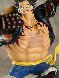One Piece Monkey D. Luffy PVC 18CM Anime Action Figures Model Toys Doll Toy Yellow
