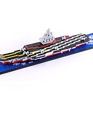 Building Blocks  Liaoning Aircraft Carrier Ship Model High Quality Mini Diamond Bricks Toy