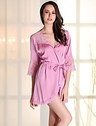 Girl & Nice® Femme Viscose Robes de Chambre-P2208