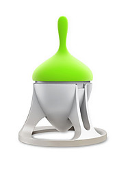 Gyro Shape Travel-friendly Tea Brewer Tea Filter Stainless Steel & Silicone Material Tea Infuser Smart Gift
