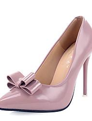 Damen-High Heels-Kleid / Party & Festivität-Kunstleder-Stöckelabsatz-Absätze / Komfort / Neuheit / Pumps / Spitzschuh / Passende Schuhe &