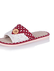 Unisex Slippers & Flip-Flops Summer Slippers Customized Materials Casual Flat Heel Others Blue / Brown /
