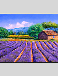 Landscape Canvas Material Oil Paintings with Stretched Frame Ready To Hang Size 60*90CM