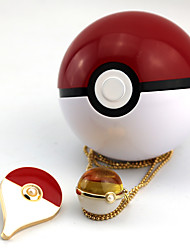 Jewelry Inspired by Pocket Monster PIKA PIKA Anime Cosplay Accessories Necklace Red / Yellow / Blue Alloy / Artificial Gemstones / PVC