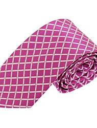 Men Formal Business Casual Polyester Silk Necktie Tie